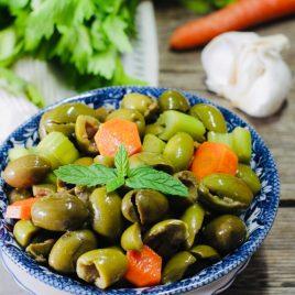 Olive verdi condite, 3 kg